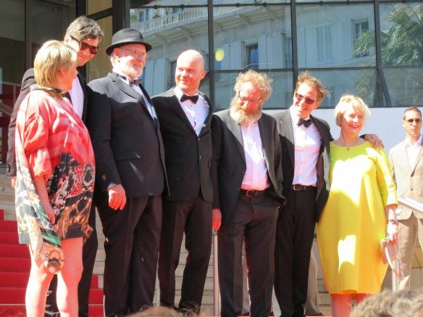 L'équipe du film à Cannes