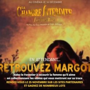 [JEU-CONCOURS] Retrouvez Margot pour la sortie de LA CHAMBRE INTERDITE de GuyMaddin