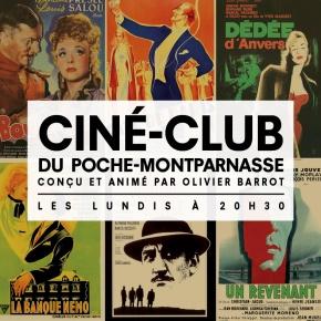 Ciné-club : le Théâtre de Poche Montparnasse invite le cinéma authéâtre