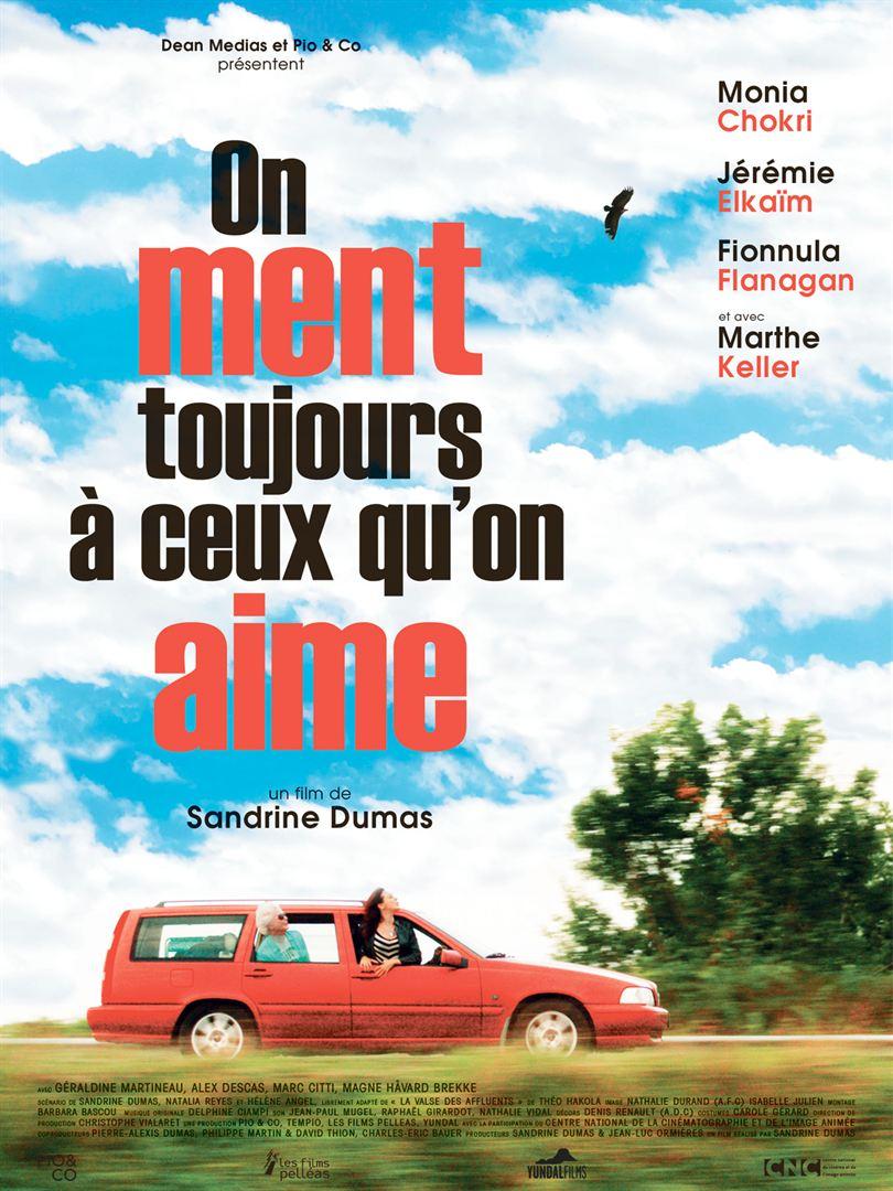 En bref : ON MENT TOUJOURS A CEUX QU'ON AIME de Sandrine Dumas