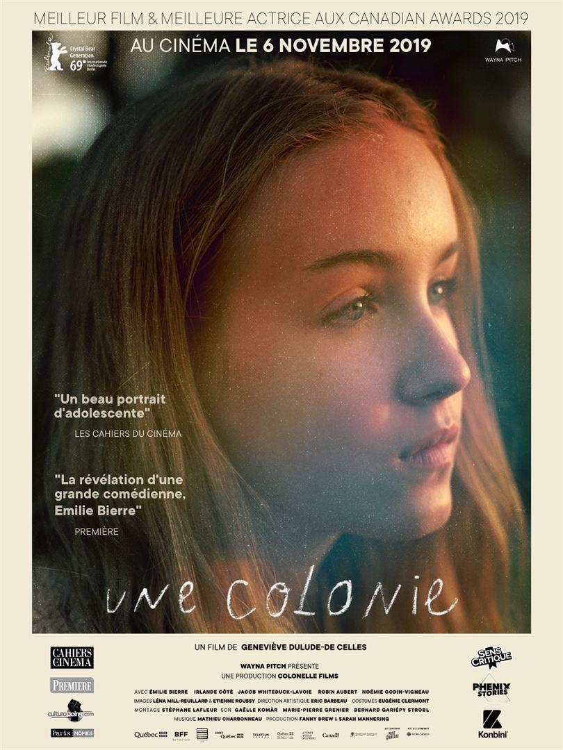 UNE COLONIE de Geneviève Dulude-De Celles